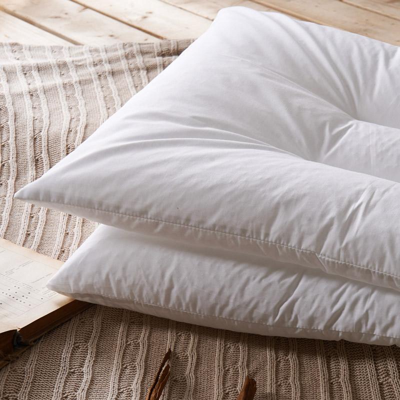 无印良品PE软管枕头 聚乙烯管状护颈椎矮枕头 枕芯
