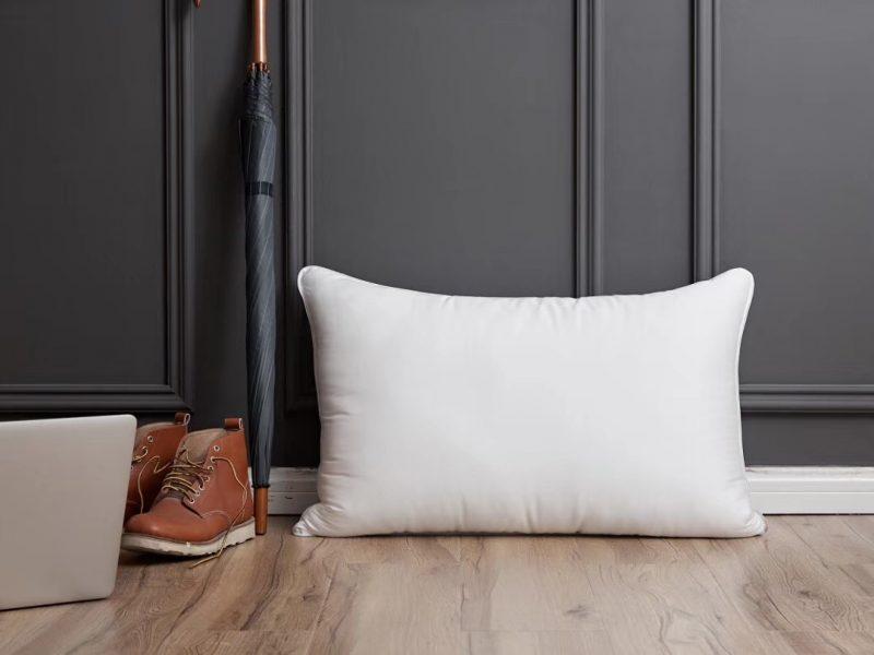天丝枕 采用天丝面料(70%莱赛尔,30%聚酯纤维)