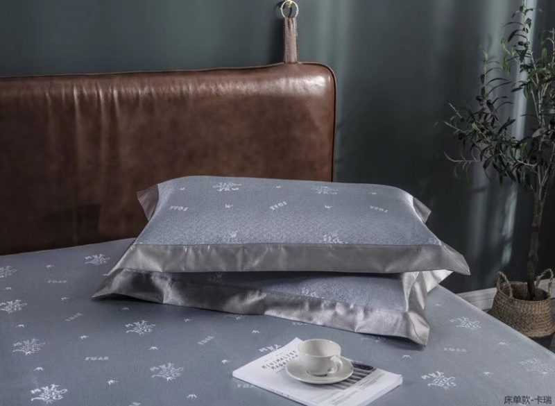 MING SU可水洗机洗养生席冰丝席空调席冰柔席三件套床单款卡瑞