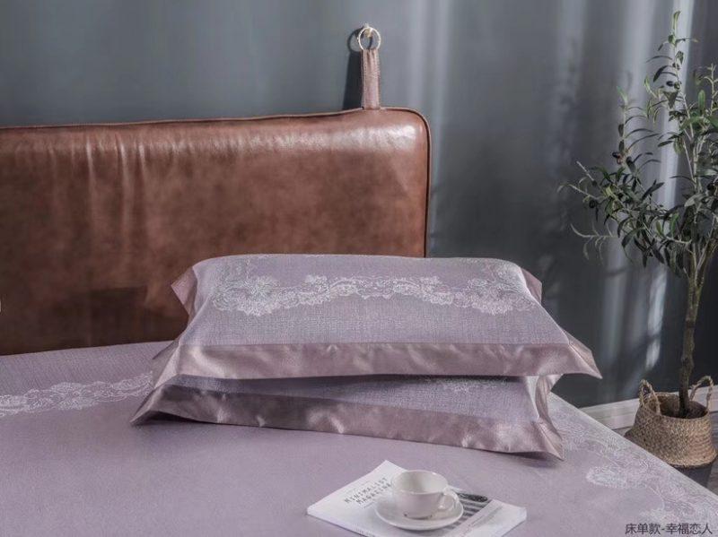 MING SU可水洗机洗养生席冰丝席空调席冰柔席三件套床单款幸福恋人