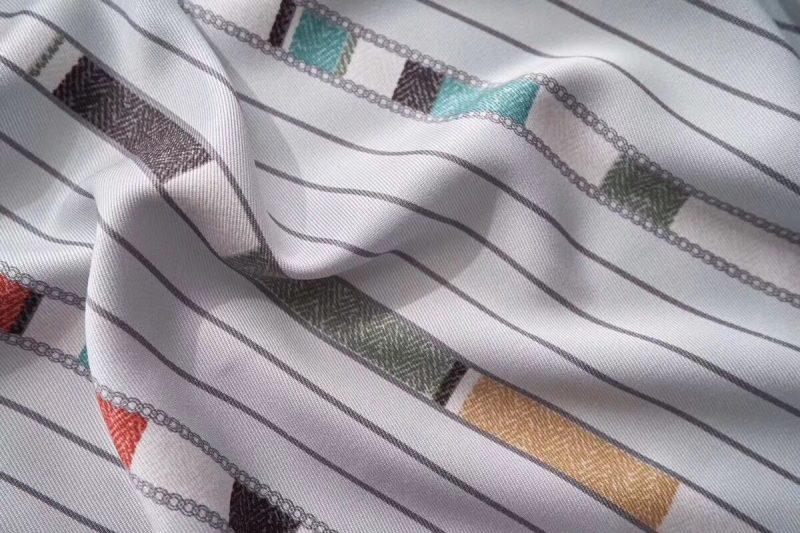 竹语天丝竹炭纤维软凉席三件套 条纹款